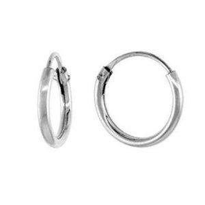 Sterling Silver 925 Small Hoop Earrings